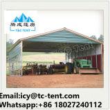 20X80m Aluminium-Zelle-Speicher-großes Lager-Zelt mit fester Wand