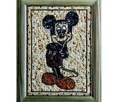 Reticolo Waterjet di pietra di marmo del medaglione del mosaico del fiore per il pavimento