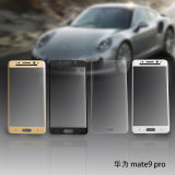 9h Protector de pantalla de vidrio templado de cuerpo entero para Huawei Mate9 Porsche