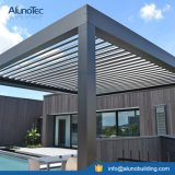 Telhado elétrico grelhas de alumínio motorizadas