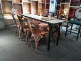 Новый Stackable стул Tolix венчания кофеего гостиницы трактира металла золота Rose