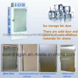 Eisspeicher-Sortierfach für das eingesackte Eis-Speichern (Innen- u. im Freienverbrauch)