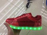 Заряжатель USB ботинок оптовой продажи освещает вверх ботинки СИД для женщин