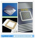Etiqueta autoadhesiva de RFID para el uso de la pista