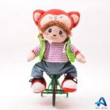 La felpa Animated vendedora caliente de la Navidad juega el juguete del canto de la felpa del cumpleaños