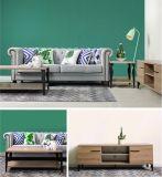 Conjunto de dormitorio moderno del nuevo paquete de madera elegante de los muebles (HC12032)