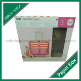 Boîte à emballage en papier pour bagages en couleur fabriquée en Chine