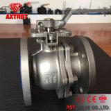 ISO5211 Tapa de montaje Válvula de bola de 2 pines DIN con brida