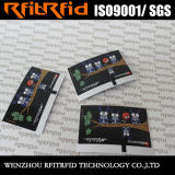 carte passive personnalisée par 13.56MHz de jeu électronique d'IDENTIFICATION RF de collant d'impression de couleur