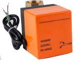Messingenergien-Ventil-Pn16 motorisiertes Energien-Steuerwasser-Kugelventil