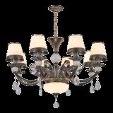 LEUCHTER-Beleuchtung-Ausgangslampe des neuen Entwurfs-2017 Kristallmit Glas (SL2271-6)