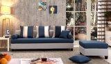 現代居間の家具の青い革オフィスのソファー(HX-NSC282)