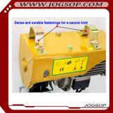 Mini élévateur électrique avec le chariot, élévateur portatif de mini grue