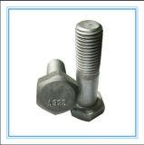 Kohlenstoffstahl-schwere Hex Kopf-Schraube (DIN6914/A325/A490)