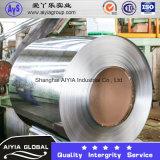 Aço galvanizado com molho quente em bobina com classificação SGCC, Dx51d, S220gd, Q195