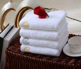 essuie-main 100% blanc de Bath du coton 600GSM pour la STATION THERMALE de maison d'hôtel