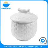 Ciotola di minestra di ceramica stampata abitudine