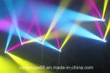 6*15W 쿼드 LED 광속 이동하는 맨 위 꿀벌 눈