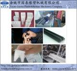 O PVC dá forma irregular à máquina da extrusão para o indicador e a fabricação da porta