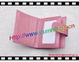 Het eenvoudige Goedkope PromotieLeer van de Vrouw Pu Dame Wallet met Goedkope Prijs