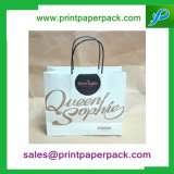 Forte impression couleur Kraft Twisted Handle Paper Carrier Bags Boutique / Cadeau / Fashion / Party Bags