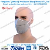 Una respirador de la protección y mascarilla de papel usados tiempo disponibles del procedimiento del papel Qk-FM012
