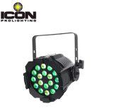 段階のための18*12W RGBWA 5in1 LEDの同価ライトか党またはディスコ