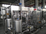 Máquina industrial do pasteurizador do leite da placa do uso do controle do PLC de Siemens