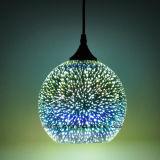 Iluminação interna para a lâmpada de suspensão nova do pendente 3D da decoração 2017