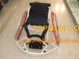 Silla de rueda de gama alta del baloncesto de sillón de ruedas de los deportes de Topmedi
