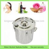 DTY Minihauptgebrauch-Wasser-Wein-Spiritus, der Edelstahl wesentliches Öl-Destillierapparat mit Thump-Faß bildet
