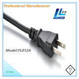 PSE Japan Typ Leistungs-Netzkabel-Stecker 12A 250V