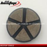 Velcro di D80mm che appoggia rilievo abrasivo schiavo di ceramica per calcestruzzo