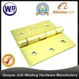 Charnière de porte de couleur de l'or Dh-3X3