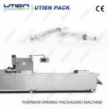 Automatische medizinische Geräte Thermoforming Plastikpackung-Maschine für Spritze