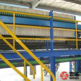 Lista de precios automática hidráulica de la prensa de filtro de placa de los PP de la membrana