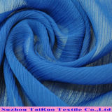 Polyester-Windung-Chiffon- und gefaltetes Chiffon- Gewebe