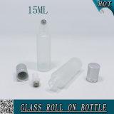 Het Berijpte Broodje van 1/2 Oz 15ml op de Fles van het Glas voor Essentiële Olie Cosmeics