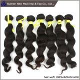 Afrouxar o cabelo natural do Virgin da extensão do cabelo humano da onda