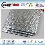 Material de aislante de calor del papel de aluminio del abrigo de burbuja