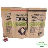 Выровнянный фольгой мешок бумаги Kraft раговорного жанра для кофейного зерна