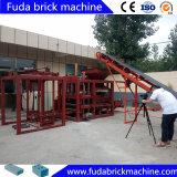 Machine de fabrication de brique de verrouillage rouge automatique de machine à paver avec du ce