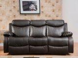 Sofá de couro do plutônio do sofá de couro moderno do Recliner para a mobília do sofá da sala de visitas