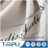 Tissu de coutil personnalisé de matelas de modèles