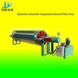 Filterpresse für keramisches mit 800mm runder Filter-Platte
