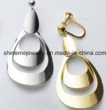 女性の方法イヤリングの鋼鉄標準的なイヤリング