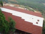 多彩な別荘または屋根瓦のための石によって塗られる金属の屋根瓦