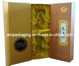 Коробка упаковки вина установки складывая бумажная