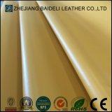 Couro sintético do PVC da cor fresca para o Upholstery dos sacos