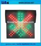 太陽ポータブルLEDの交通信号ライト